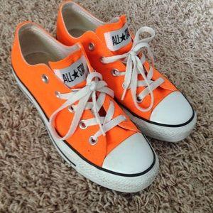 Converse All Star Neon Bright Orange